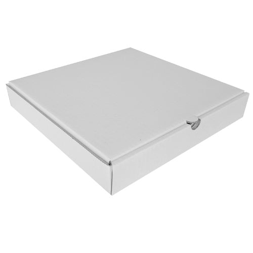 12 inch Plain White Pizza Box - GM Packaging (UK) Ltd