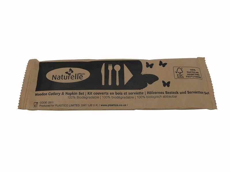 4 in 1 Wooden Meal Pack - GM Packaging (UK) Ltd