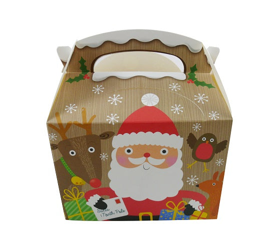 Kiddies Meal Paper Boxes-Xmas Designs - GM Packaging (UK) Ltd