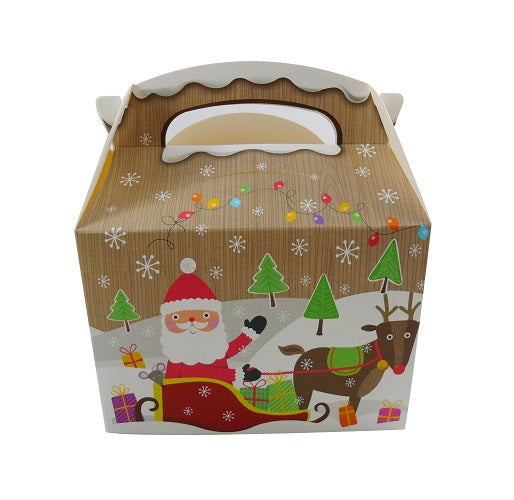Kiddie Meal Christmas Party Box - GM Packaging UK Ltd