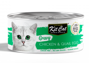 Chicken with Quail Egg 70g - Wet Food in Sauce
