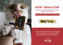 Snack Purr Puree PLUS Atún (Skin & Coat)