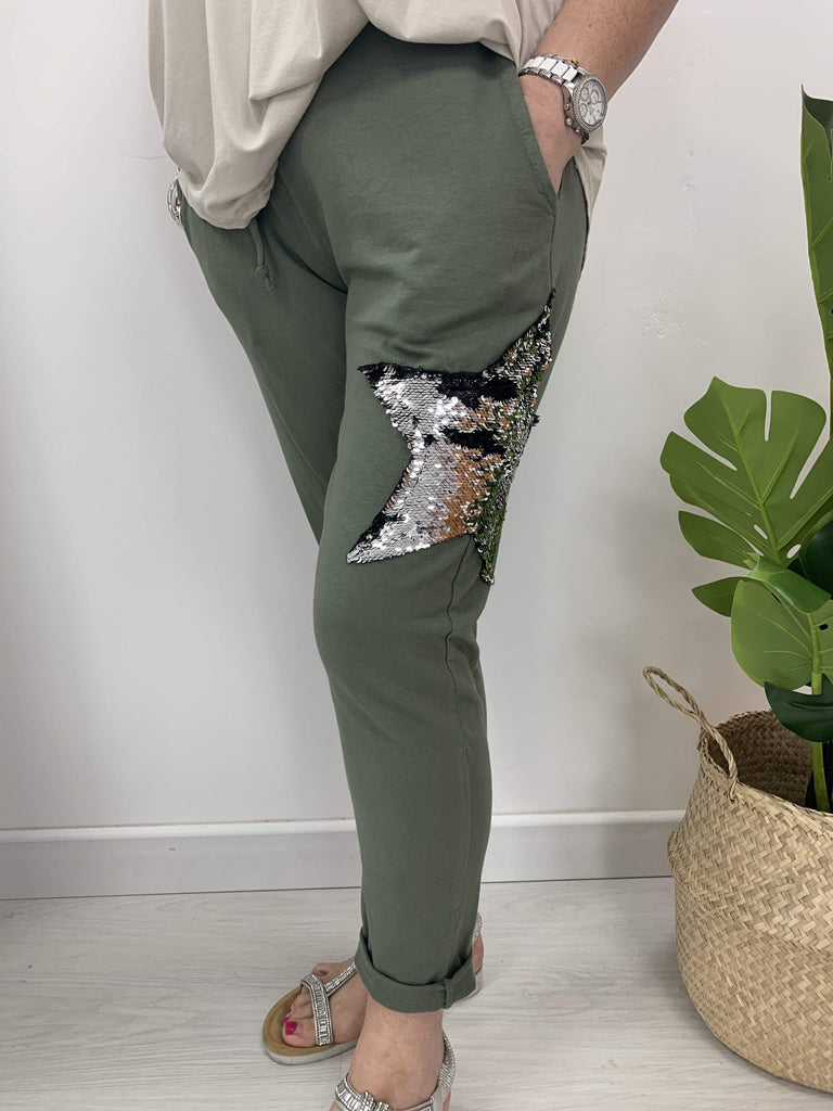 The Sequin Star Jogger