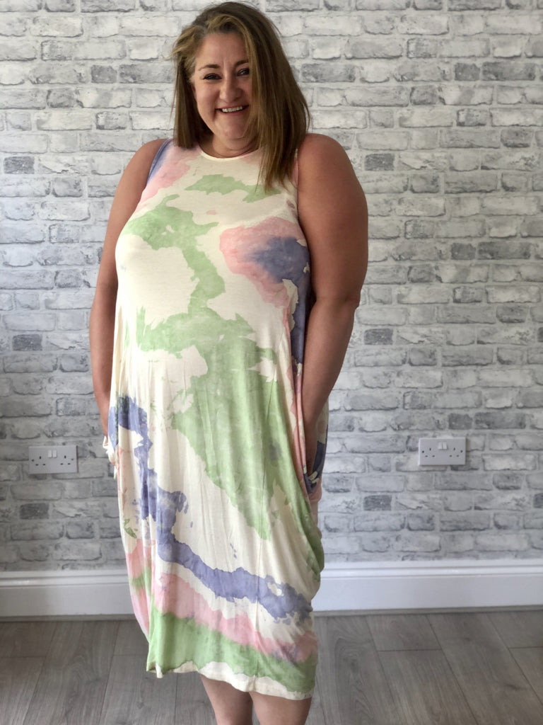 The Painted Parachute Dress