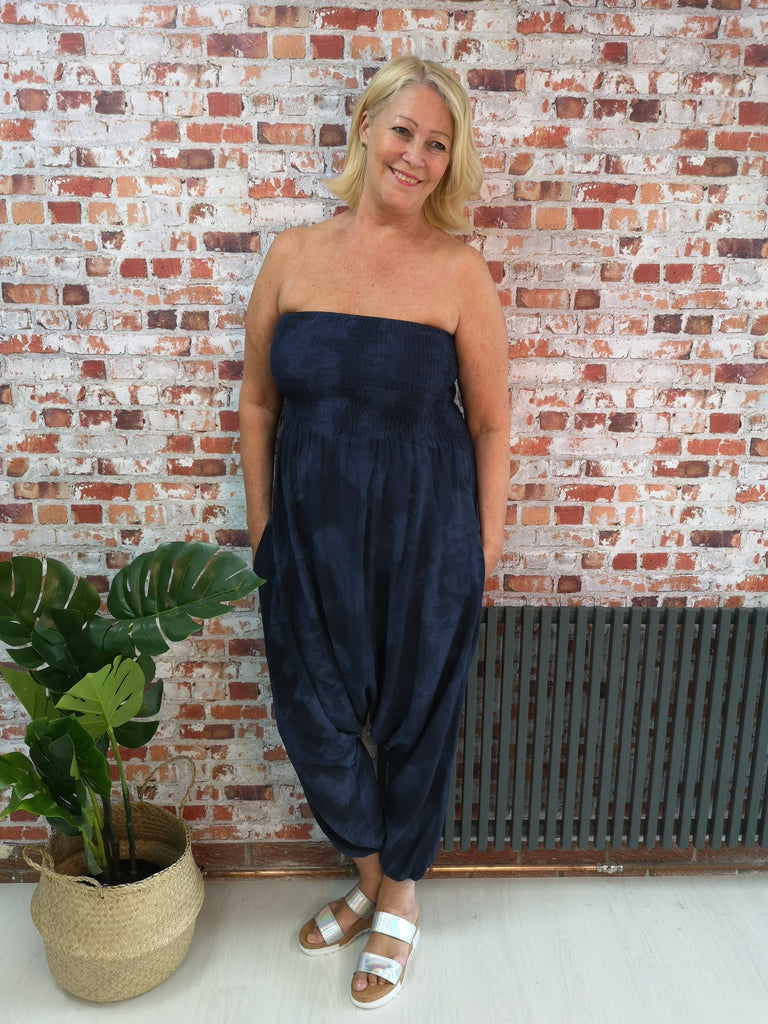 The Grungey Bandeau Jumpsuit