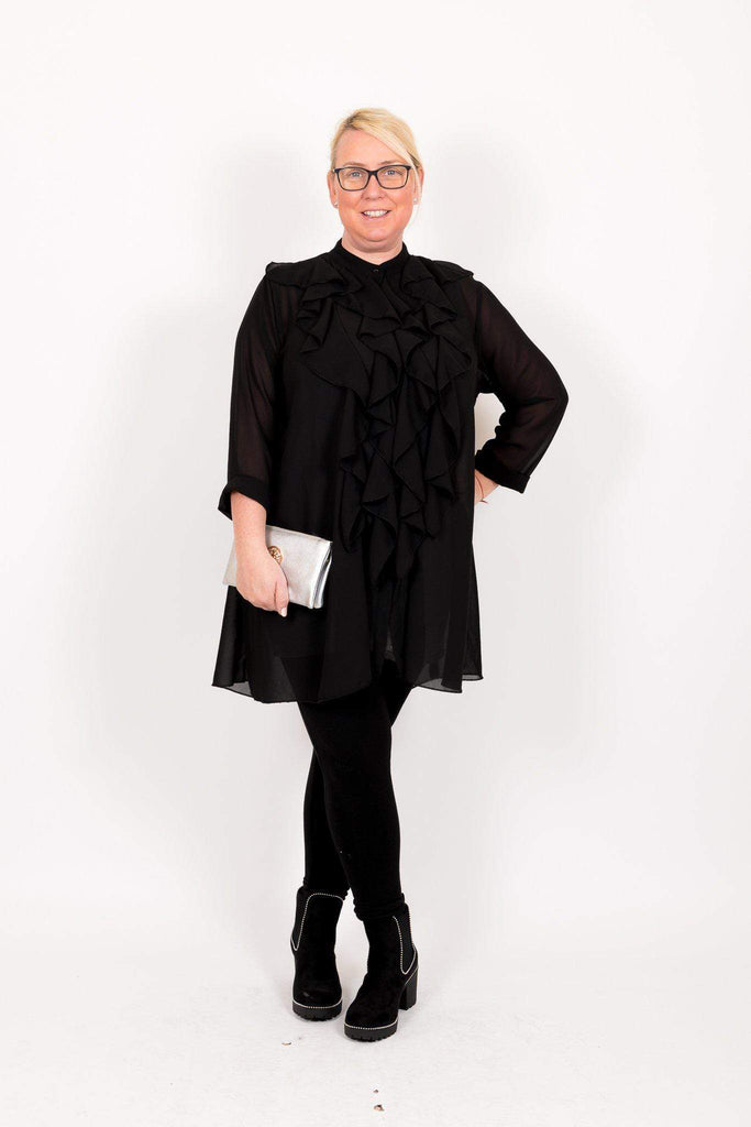 The Full on Frill Tunic - Ruby & Daisy