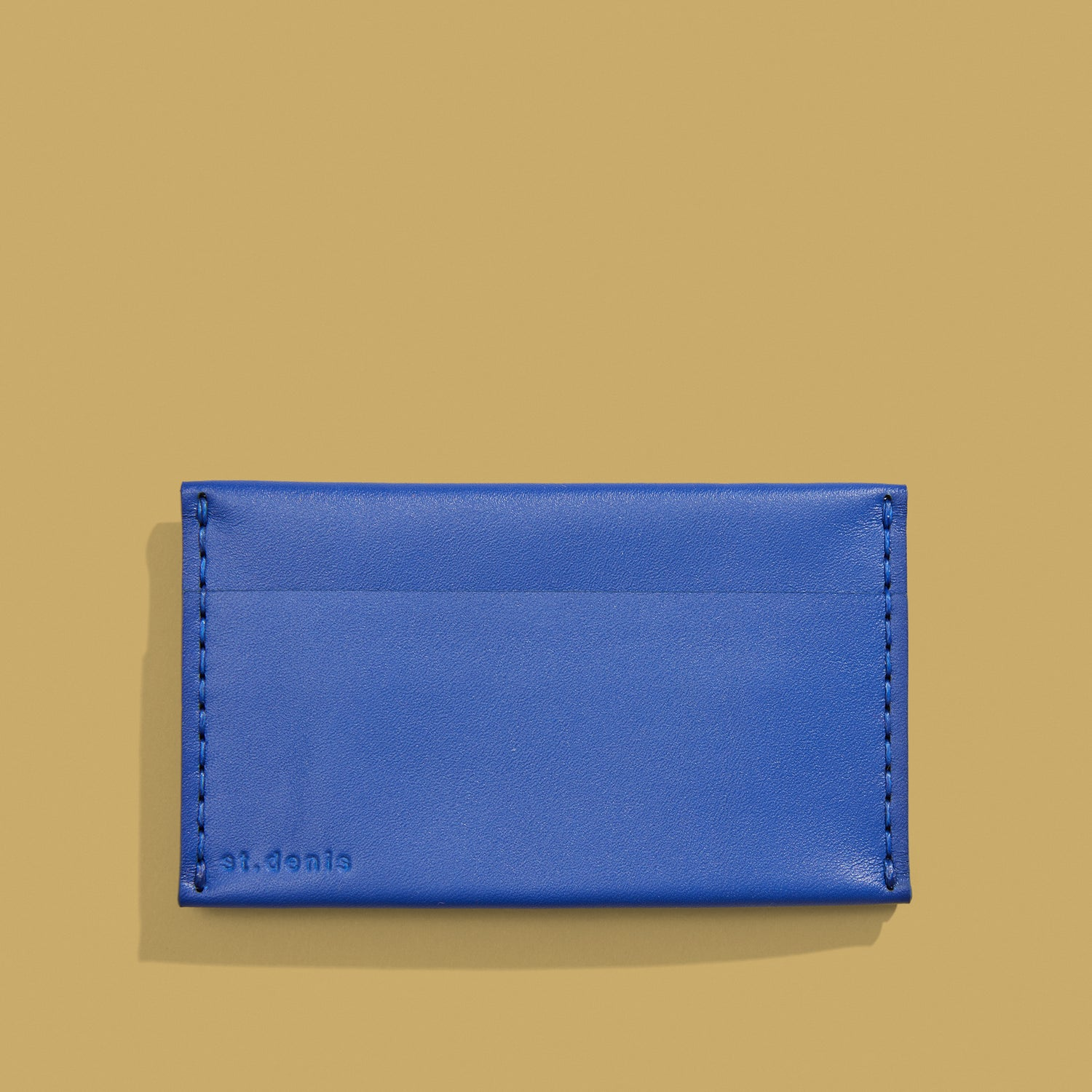 Sold out<br>Porte-cartes triple Couleur bleu