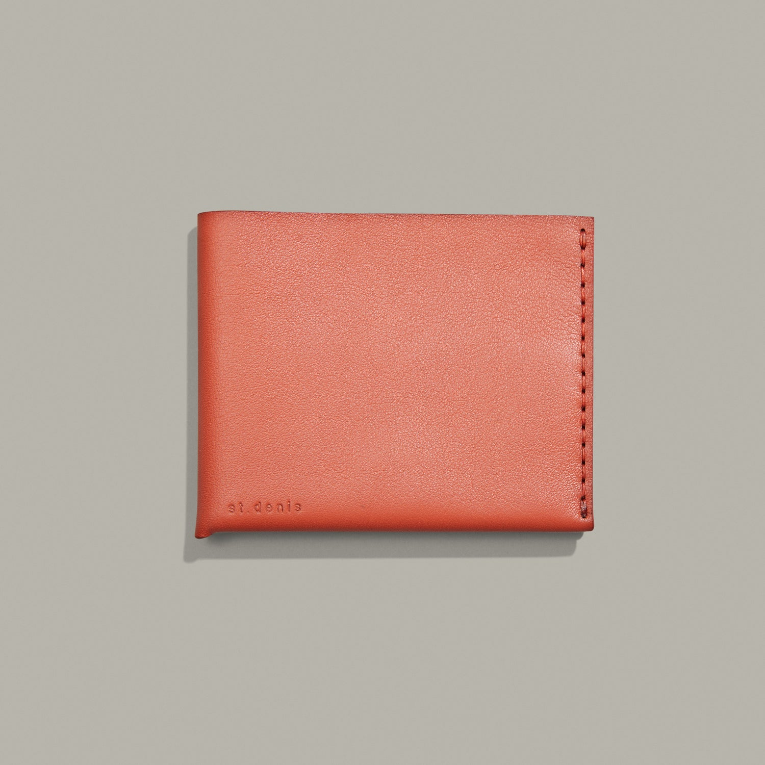 Sold out<br>Portefeuille bifold Couleur terracotta
