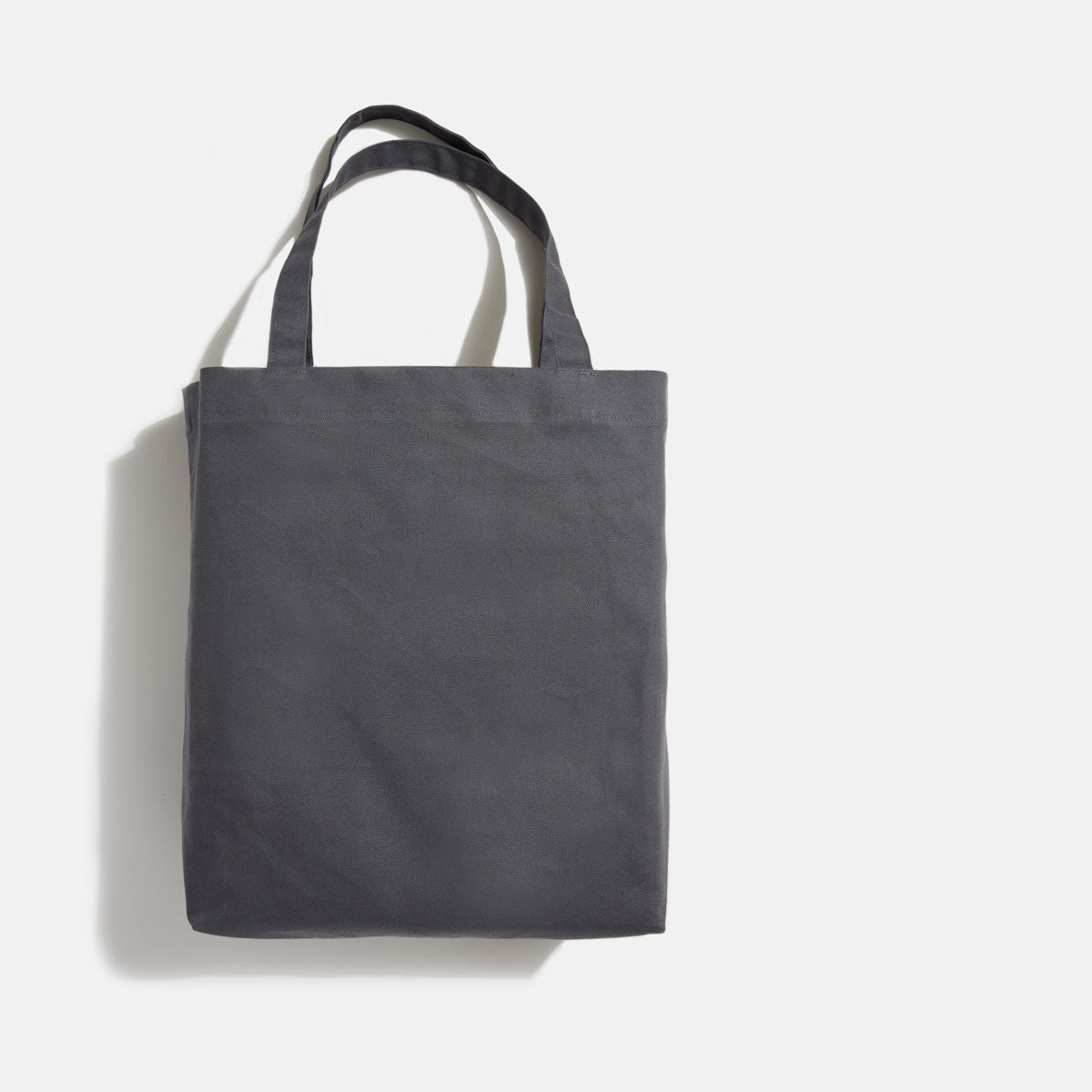 Grand tote charbon blank