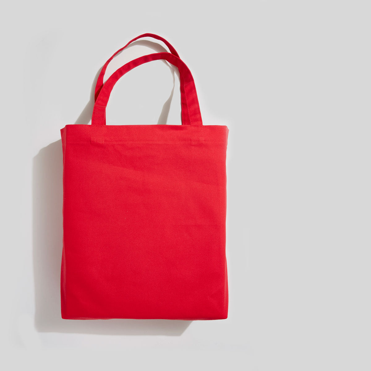 Grand tote rouge blank