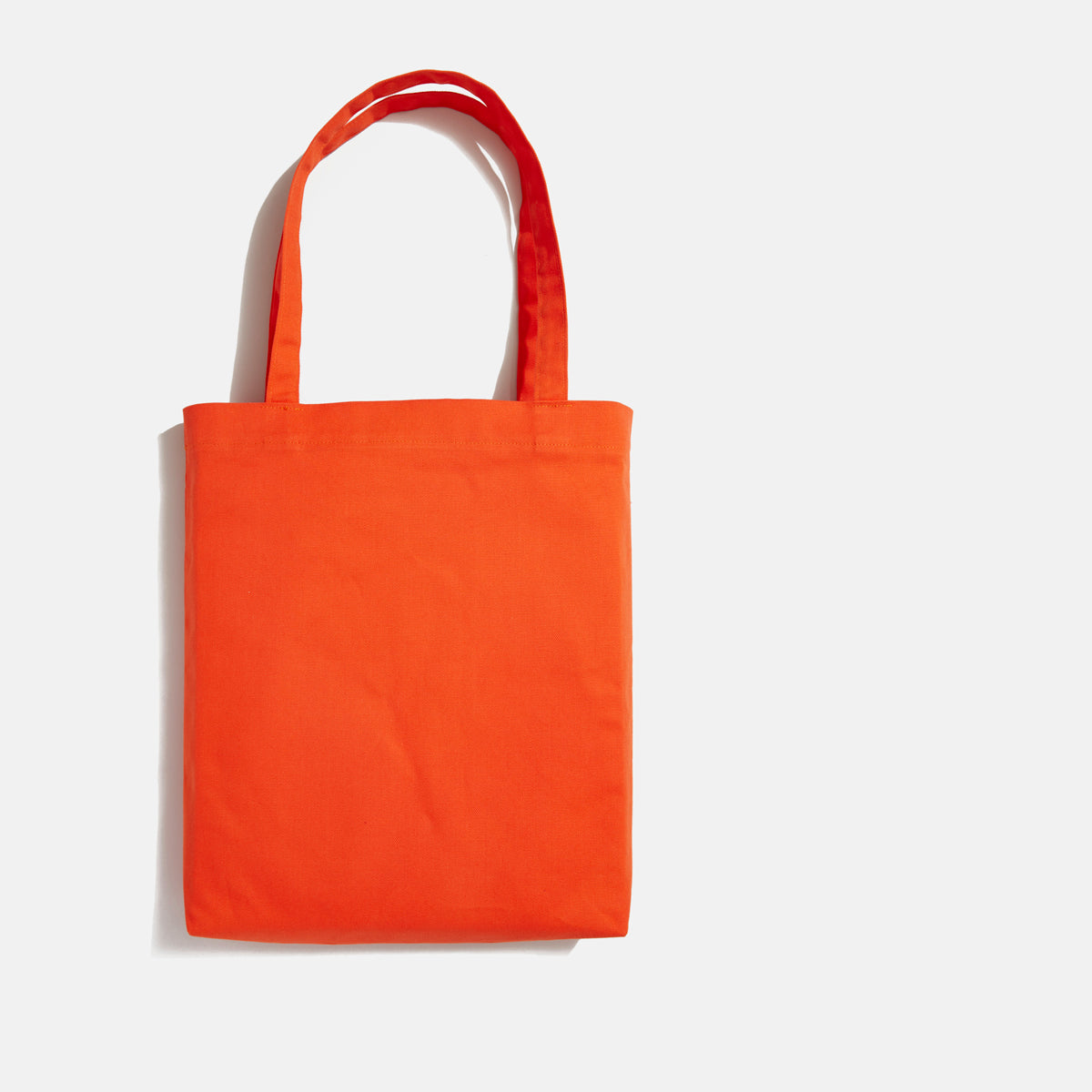 Moyen tote orange blank