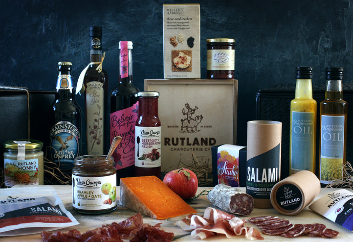 Rutland Charcuterie Gift Hampers now available!