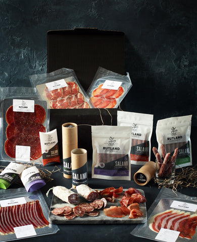 free range British charcuterie gift hamper food present delivered shop buy