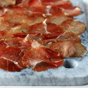 noix de jambon charcuterie airdried cured meat freerange pork british rutland