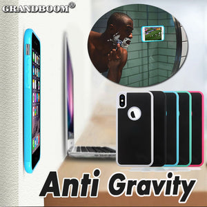 Anti gravity Nano Suction Shockproof Phone Case For iPhone/Android