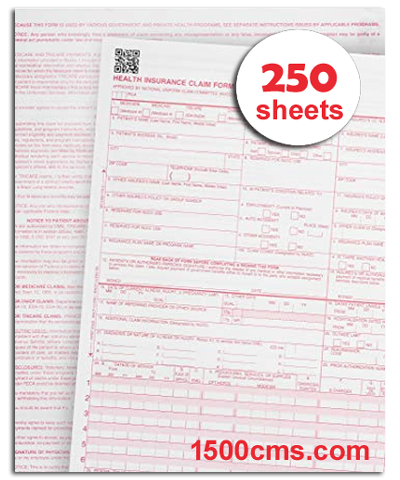 It is a photo of Cms 1500 Form Printable in ub 04