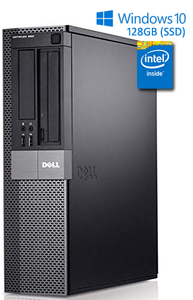 Dell Optiplex Intel Core i3 SFF Desktop Computer 128gb SSD Windows 10