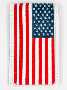 USA Flag Yardagebook Holder
