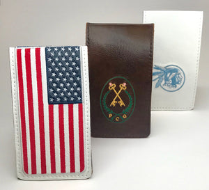 Custom Yardage Book Holder