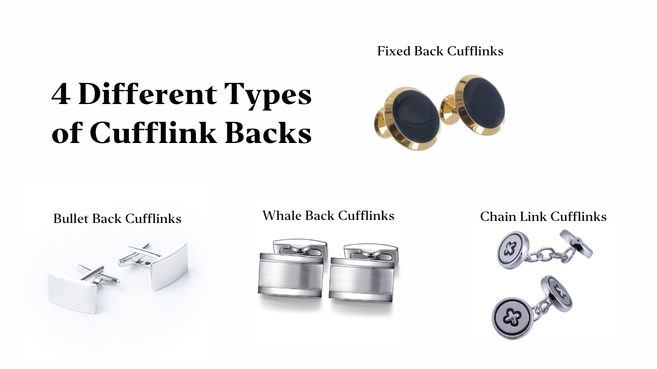 Four Different Types of Cufflink Backs | Style Standard