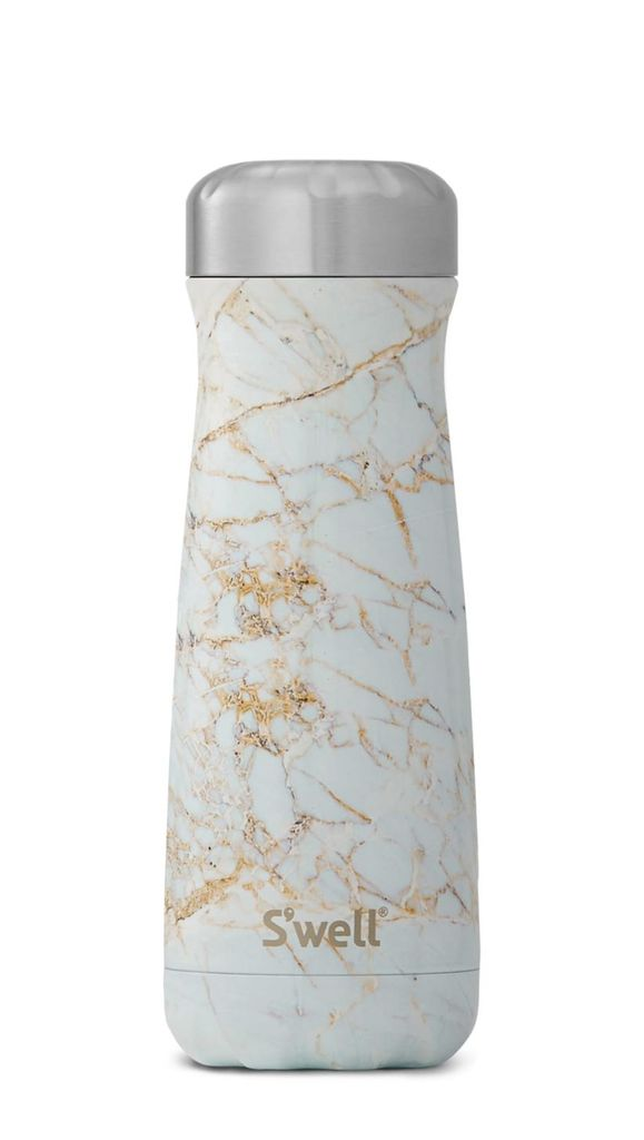'Swell Calacatta Gold Traveller Bottle - Thorn and Burrow