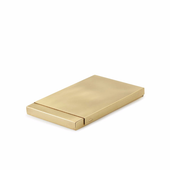 Brass Business Card Case