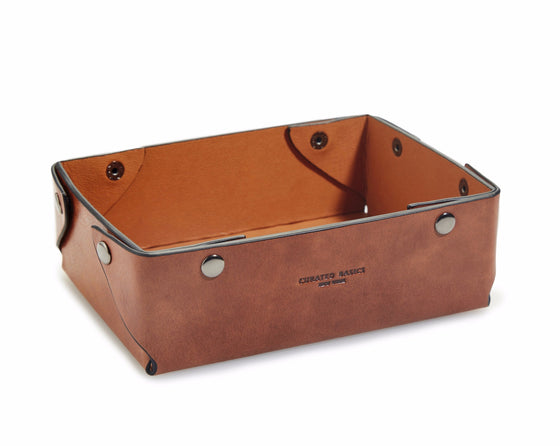 Catch-all Leather Tray