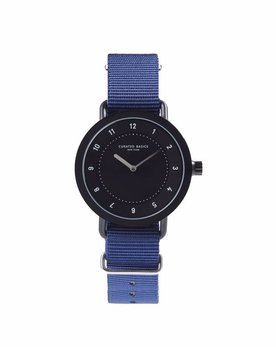 Navy Nylon Nato Watch Strap