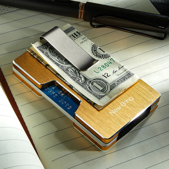 Metal Cardholder and Money Clip