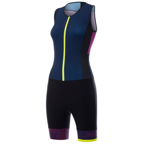 Santini Womans Redux Sleeveless Trisuit - Total Endurance Ltd