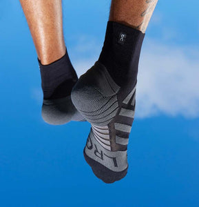 Mens Mid Sock Black / Shadow