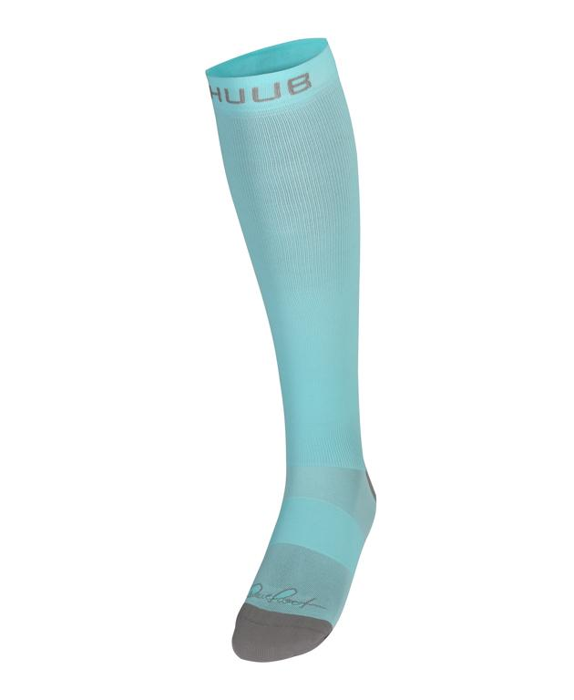 HUUB DS Recovery Compression Sock - Aqua