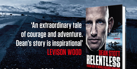 Dean Stott's Best Selling Book - Relentless - Total Endurance Ltd