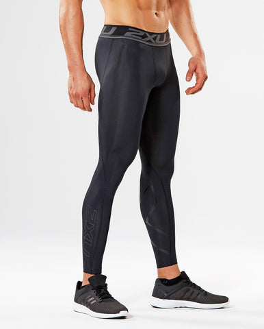2XU Mens Accelerate Compression Tights - Total Endurance