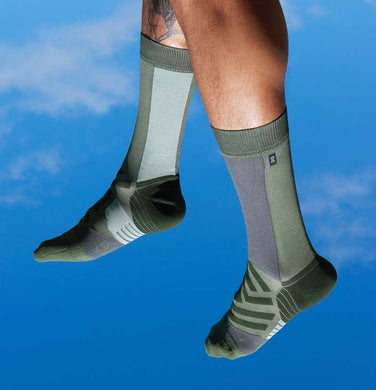 Mens High Sock Storm / Moss