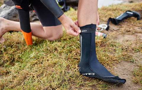 Zone 3 Neoprene Swim Socks - Total Endurance Ltd