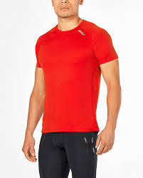 2XU X-Vent Mens Short Sleeve T-Shirt - Total Endurance