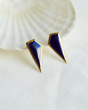 Shard Earrings Blue