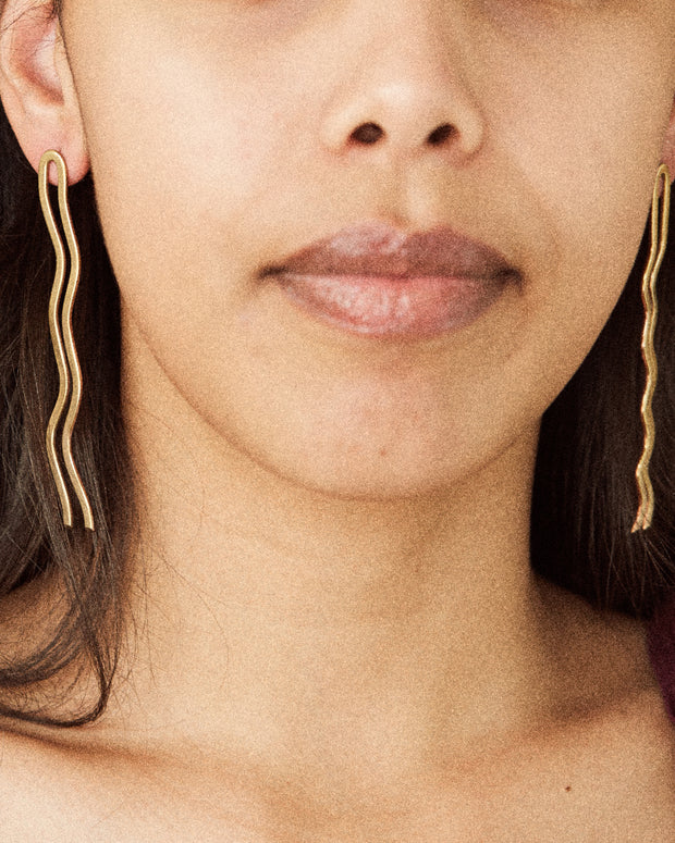 Riverine Drop Earrings