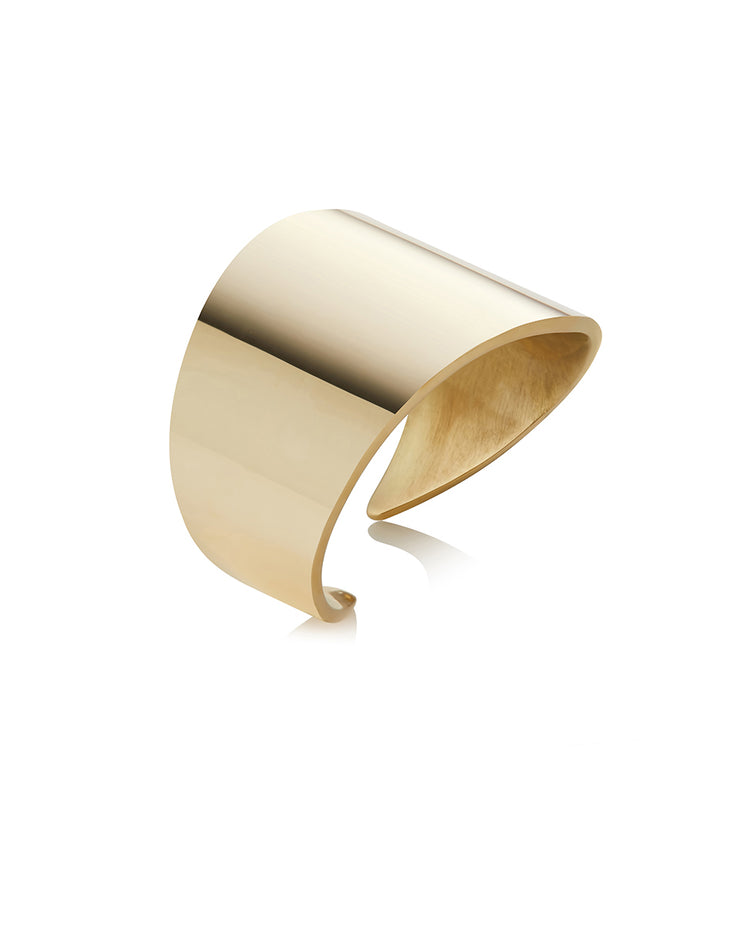 Angular Brass Ring