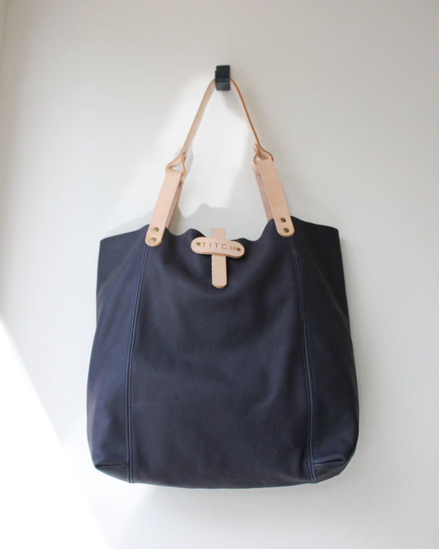 Slouch Tote Navy