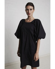 Raglan Dress Black