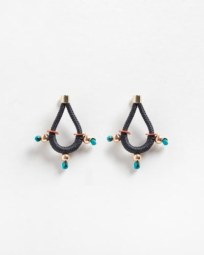 Trinity Earrings Black