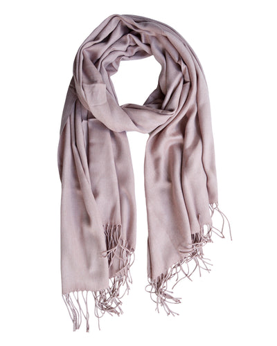 Luxe Summer Scarf Blush