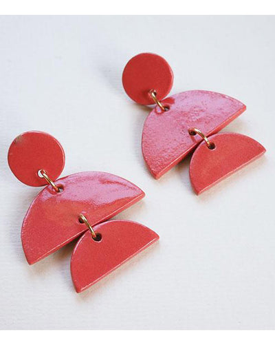 Edith Earring Coral