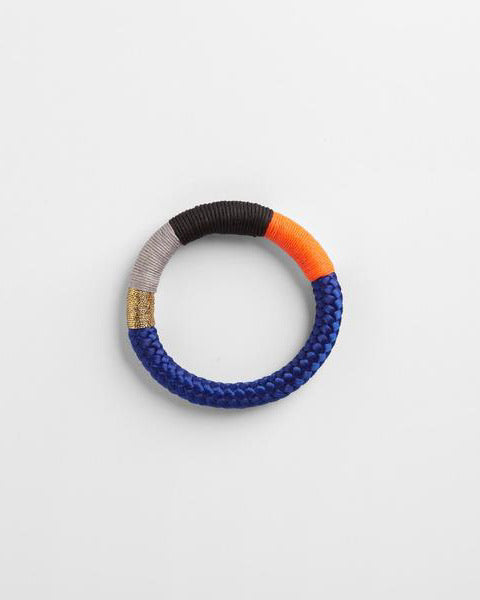 Thin Ndebele Bangle Blue