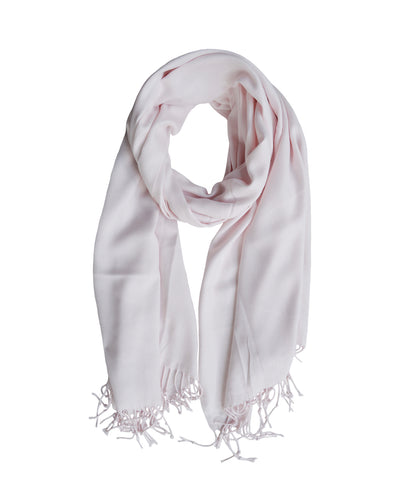 Luxe Summer Scarf Pale Pink