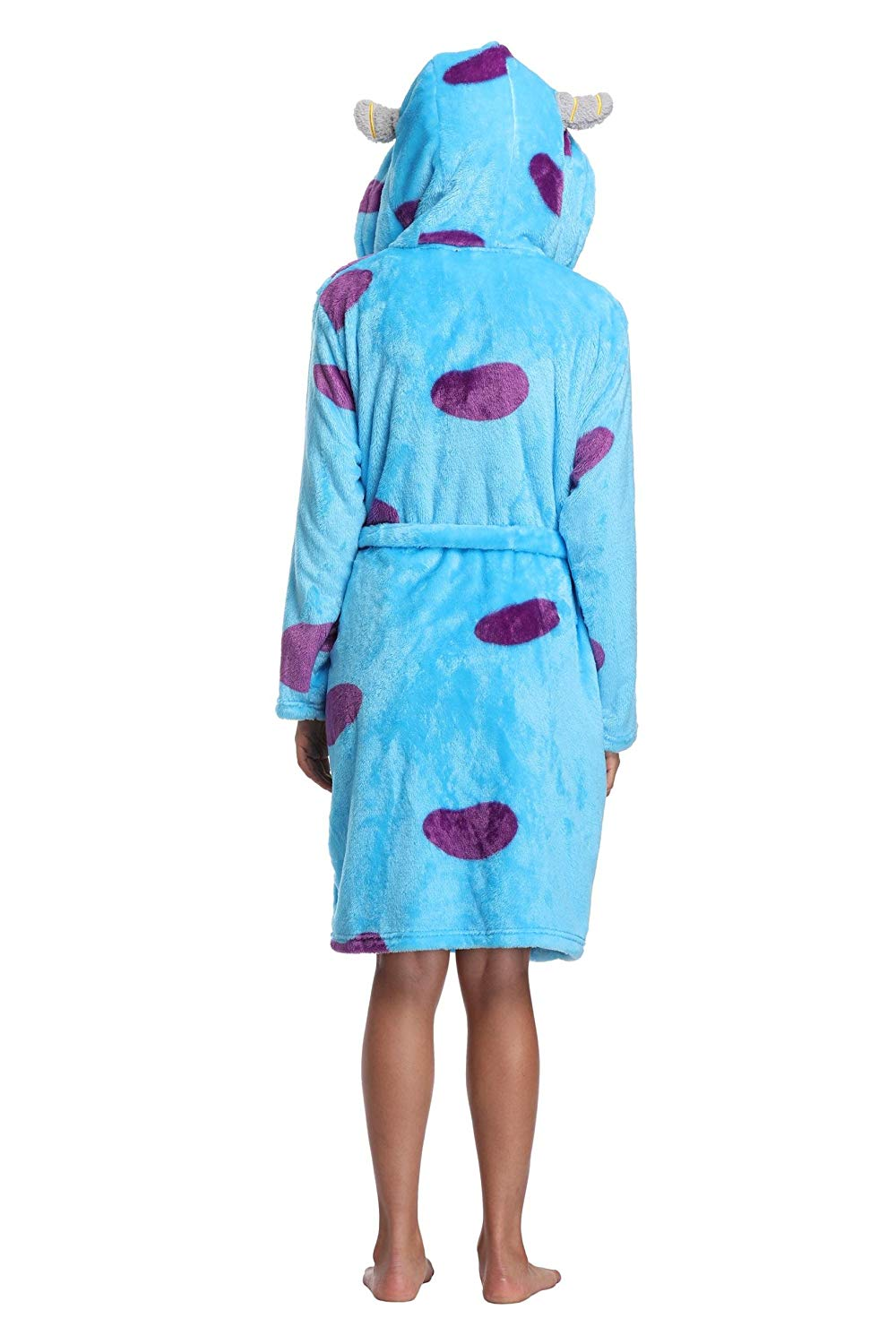 Sully Hooded Robe - Flannel-Bathrobe-Belife