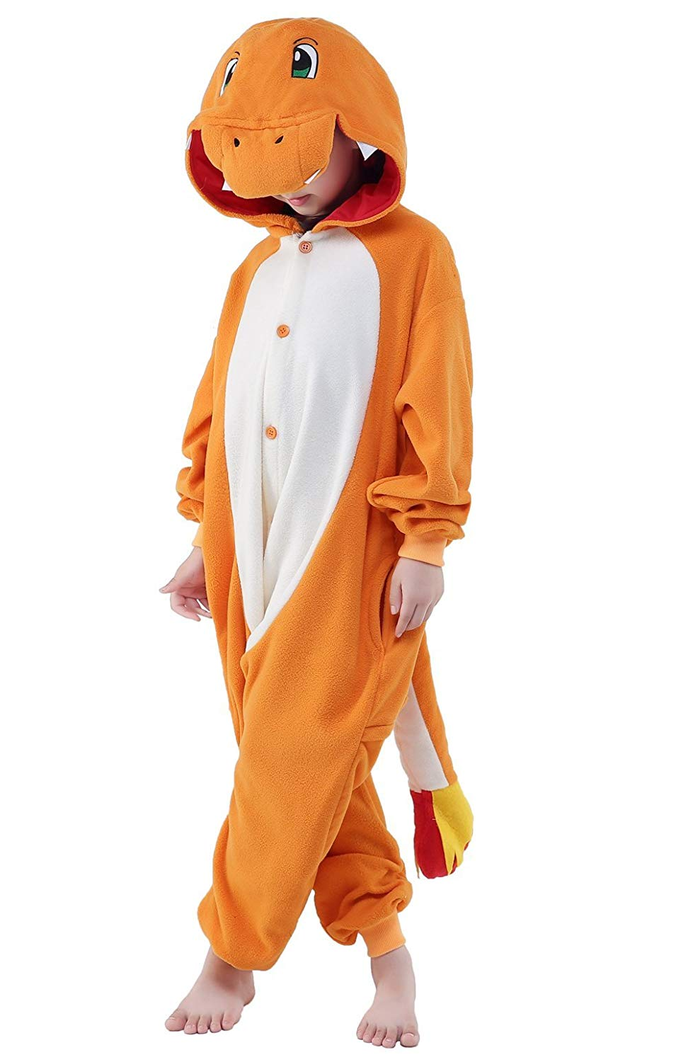 Pokemon Charmander Onesie - Fleece-Kigurumi-Belife