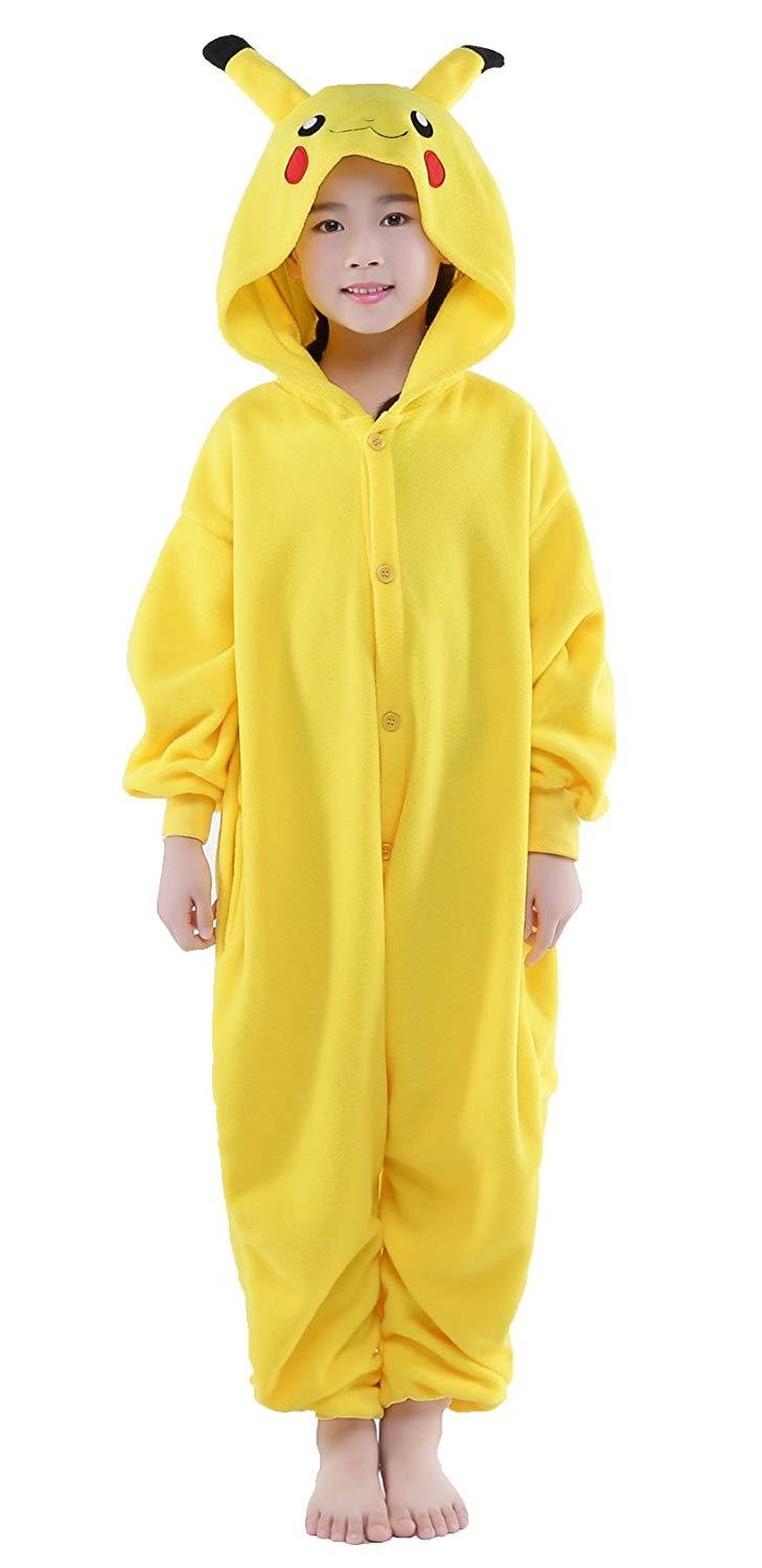 Pokemon Pikachu Onesie - Fleece-Kigurumi-Belife